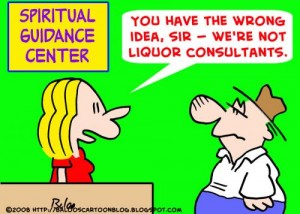 spiritual guidance not liquor guidance